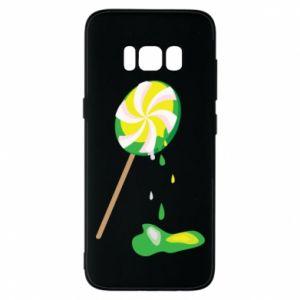 Etui na Samsung S8 Zielony lizak