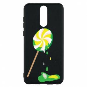 Etui na Huawei Mate 10 Lite Zielony lizak