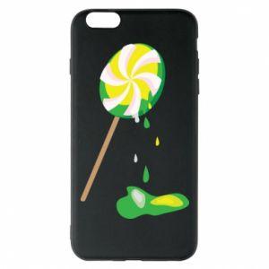 Etui na iPhone 6 Plus/6S Plus Zielony lizak