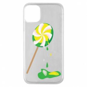 Etui na iPhone 11 Pro Zielony lizak