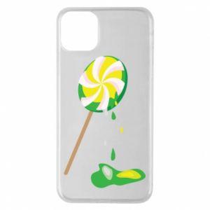 Etui na iPhone 11 Pro Max Zielony lizak