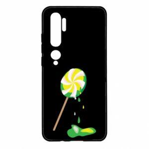 Etui na Xiaomi Mi Note 10 Zielony lizak