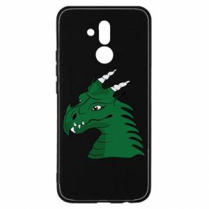 Etui na Huawei Mate 20 Lite Zielony smok z rogami