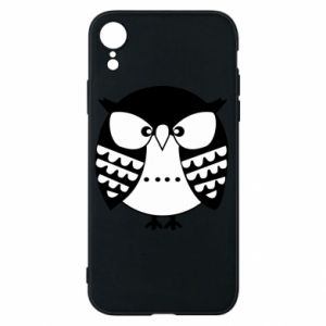 iPhone XR Case Evil owl