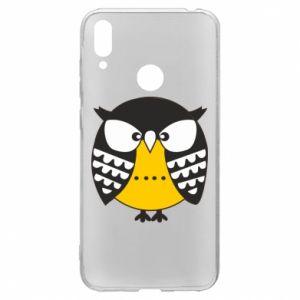 Huawei Y7 2019 Case Evil owl