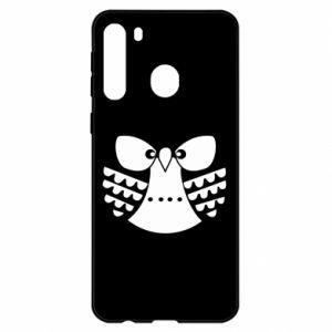 Samsung A21 Case Evil owl