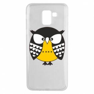 Samsung J6 Case Evil owl