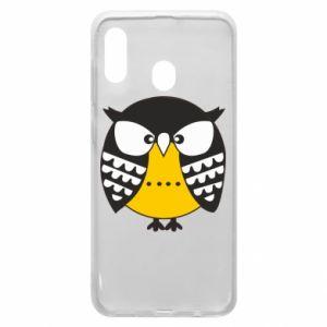 Samsung A30 Case Evil owl