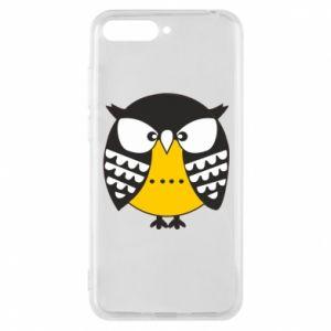 Huawei Y6 2018 Case Evil owl
