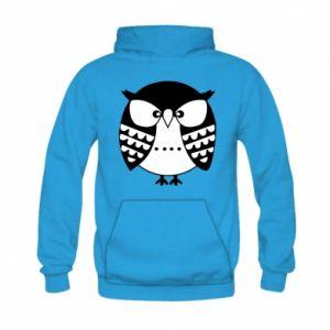 Kid's hoodie Evil owl