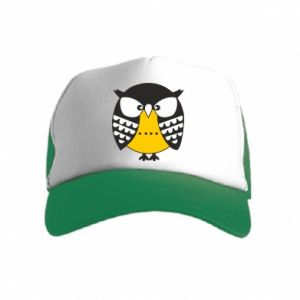 Kid's Trucker Hat Evil owl