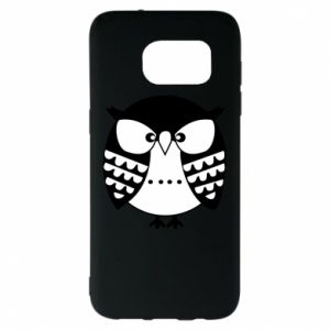Samsung S7 EDGE Case Evil owl