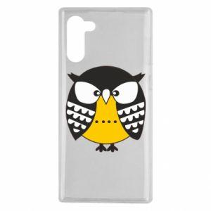 Samsung Note 10 Case Evil owl
