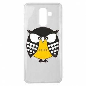Samsung J8 2018 Case Evil owl