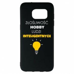 Etui na Samsung S7 EDGE Złośliwość - hobby