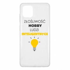 Etui na Samsung Note 10 Lite Złośliwość - hobby