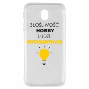 Etui na Samsung J7 2017 Złośliwość - hobby