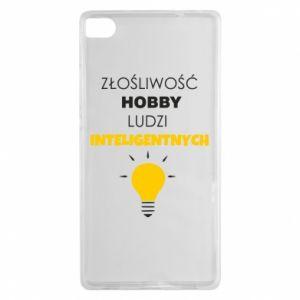 Etui na Huawei P8 Złośliwość - hobby