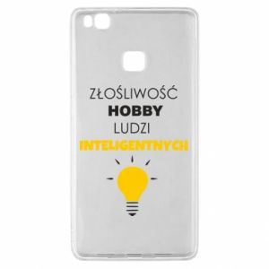 Etui na Huawei P9 Lite Złośliwość - hobby