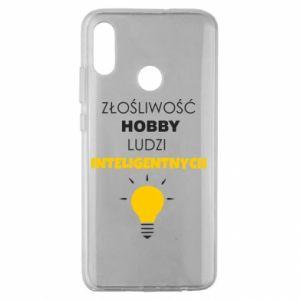 Etui na Huawei Honor 10 Lite Złośliwość - hobby