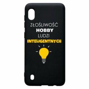 Etui na Samsung A10 Złośliwość - hobby