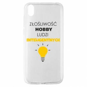 Etui na Huawei Y5 2019 Złośliwość - hobby