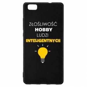 Etui na Huawei P 8 Lite Złośliwość - hobby