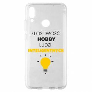 Etui na Huawei P Smart 2019 Złośliwość - hobby