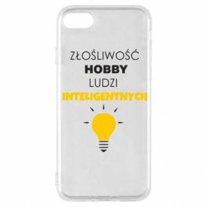 Etui na iPhone SE 2020 Złośliwość - hobby