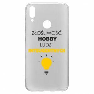 Etui na Huawei Y7 2019 Złośliwość - hobby