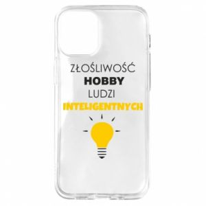 Etui na iPhone 12 Mini Złośliwość - hobby