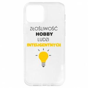 Etui na iPhone 12/12 Pro Złośliwość - hobby