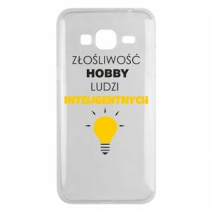 Phone case for Samsung J3 2016 Slander - a hobby - PrintSalon