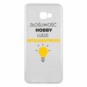 Phone case for Samsung J4 Plus 2018 Slander - a hobby - PrintSalon