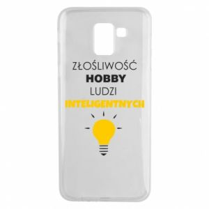 Phone case for Samsung J6 Slander - a hobby - PrintSalon