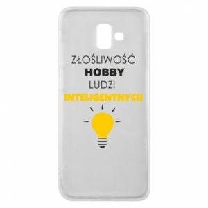 Phone case for Samsung J6 Plus 2018 Slander - a hobby - PrintSalon