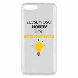 Phone case for Xiaomi Mi6 Slander - a hobby - PrintSalon