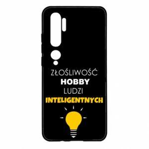 Etui na Xiaomi Mi Note 10 Złośliwość - hobby