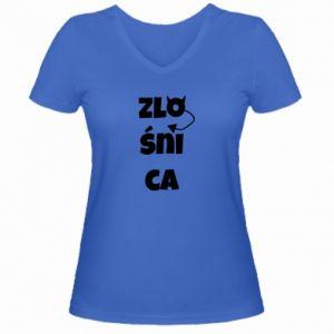 Women's V-neck t-shirt Shrew - PrintSalon