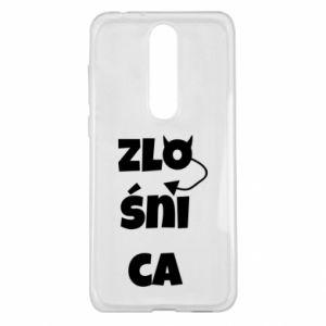 Etui na Nokia 5.1 Plus Zlośnica