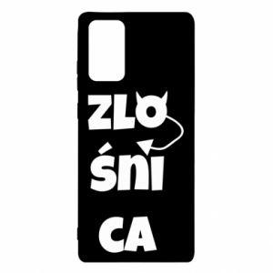 Etui na Samsung Note 20 Zlośnica