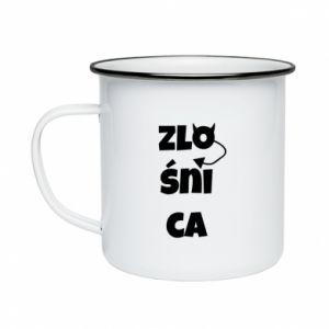 Enameled mug Shrew - PrintSalon