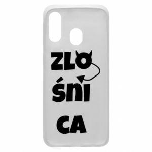 Phone case for Samsung A40 Shrew - PrintSalon