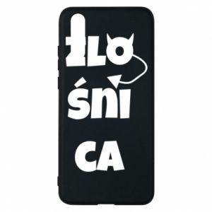 Phone case for Huawei P20 Shrew - PrintSalon
