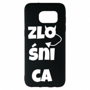 Etui na Samsung S7 EDGE Zlośnica