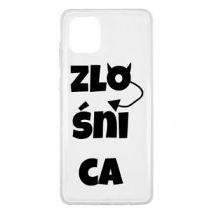 Etui na Samsung Note 10 Lite Zlośnica
