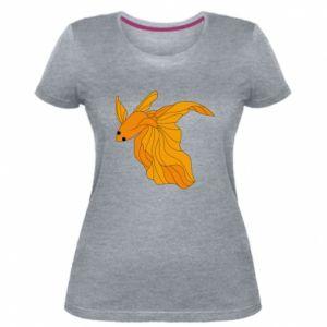 Women's premium t-shirt Goldfish