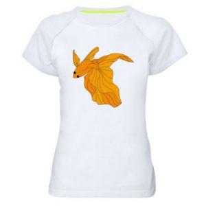 Women's sports t-shirt Goldfish