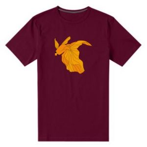Męska premium koszulka Złota rybka
