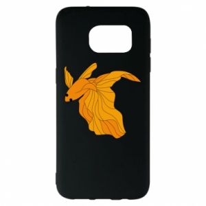 Samsung S7 EDGE Case Goldfish